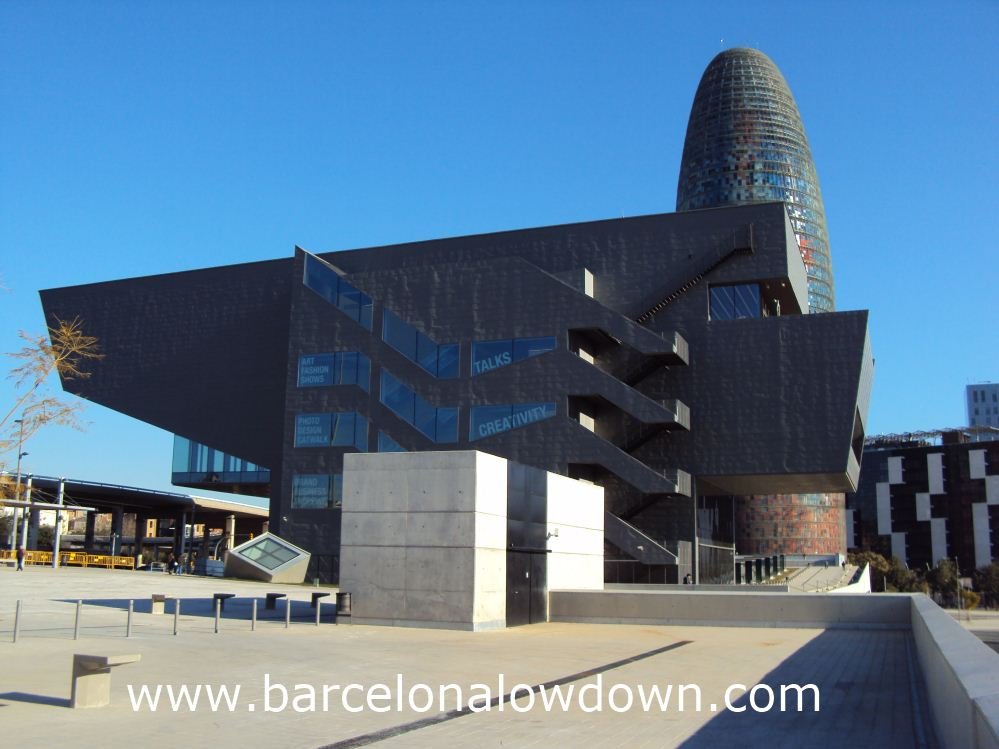 """Vector Prime or Another view of the stunning new """"disseny hub"""" Barcelona ?"""