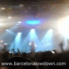 Molotov play live in front of a packed Razzmatazz 2 in Barcelona