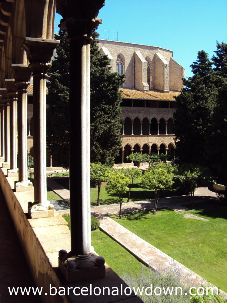 View from the upper levels of the Cloisters