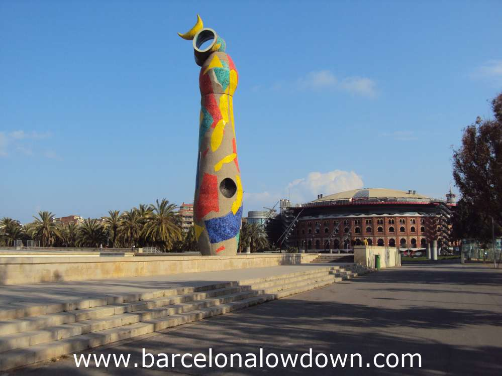 Joan Miró Park and the Woman & Bird Sculpture - Barcelona Lowdown