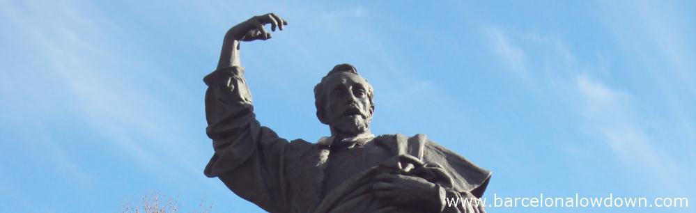 Statue of Pau Claris in Passeig Luis Companys, Barcelona
