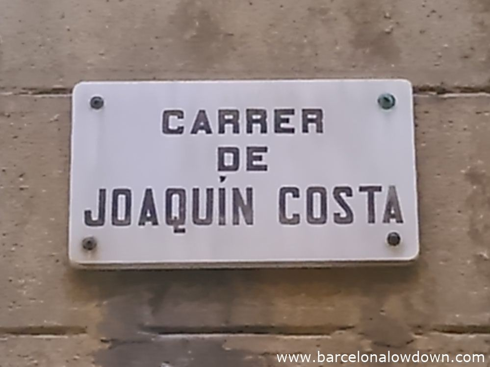 Street name ofthe road in the Raval where the Vampire of Barcelona used to live.