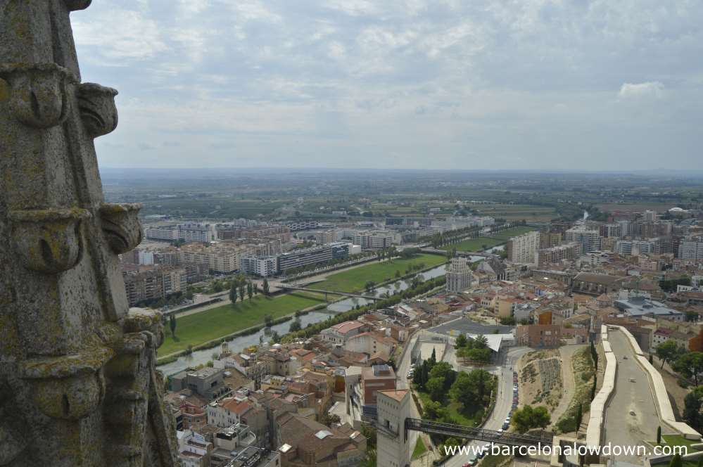 One of the things you should do while in Lleida is climb the belltower of the Seu Vella and enjoy the Spectacular views of the Catalan countryside