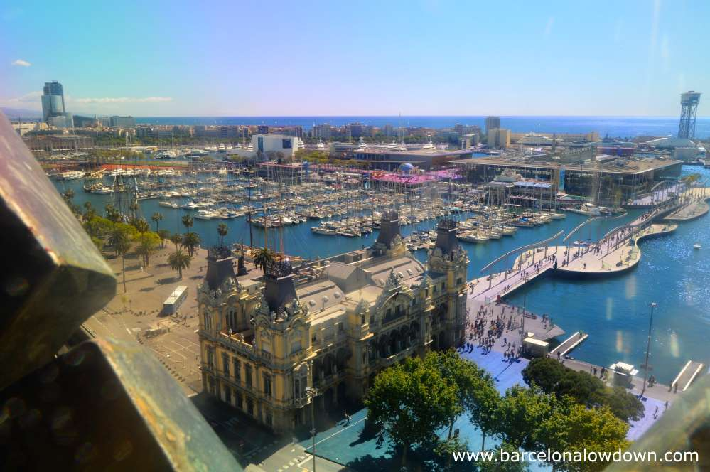 Christopher Columbus Monument And Viewpoint Barcelona