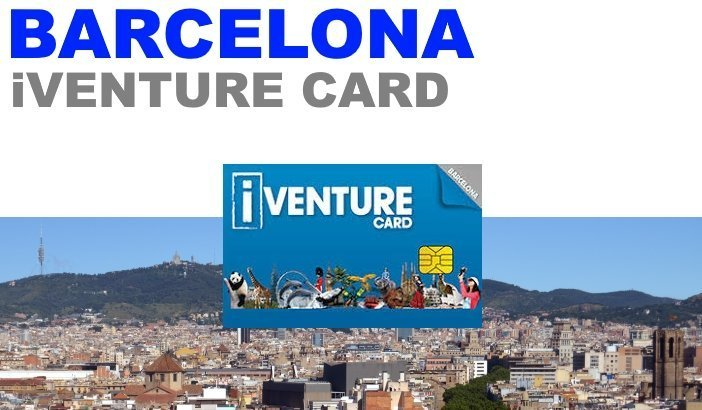 iventure card Barcelona, tickets tours activities discount skip the line pass