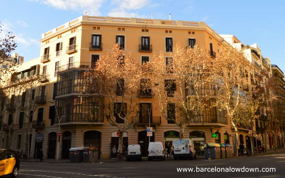 One of the Cerda houses in Barcelona's Eixample district
