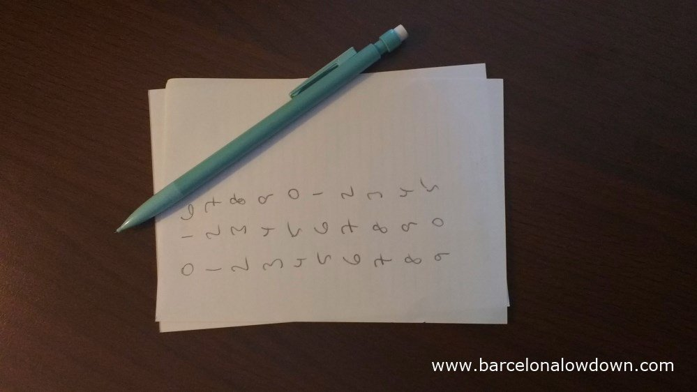 Using a pencil and paper to crack the code