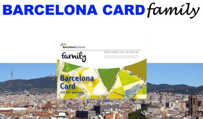 The Barcelona Card family sightseeing pass