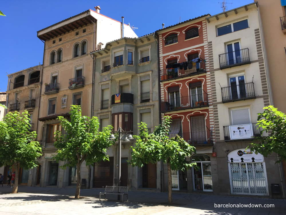 Colourful Modernista houses