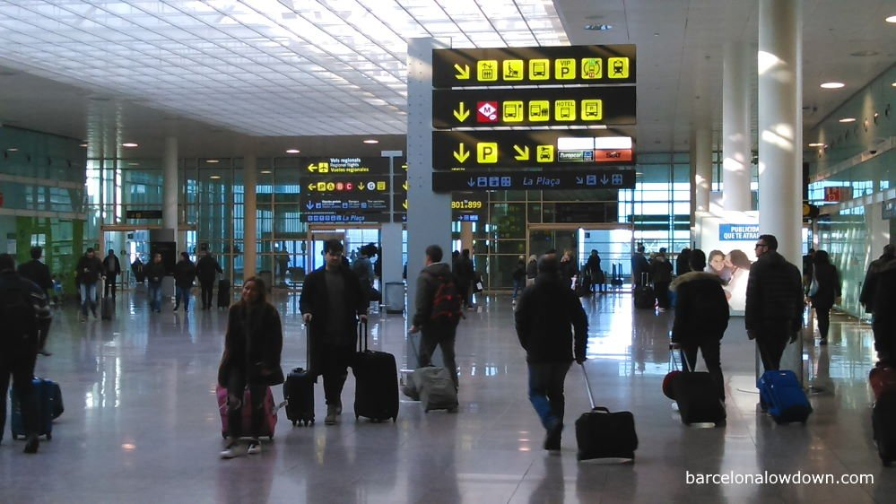 Barcelona Airport Terminal 1. Photo to illustrate the Best Barcelona Airports article.